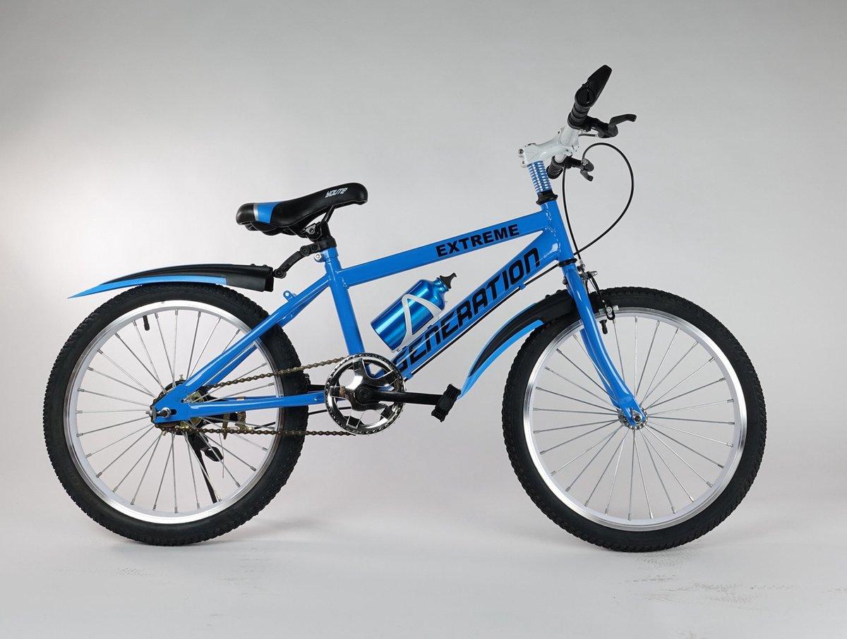 """Generation Extreme fiets 24"""" Blauw"""