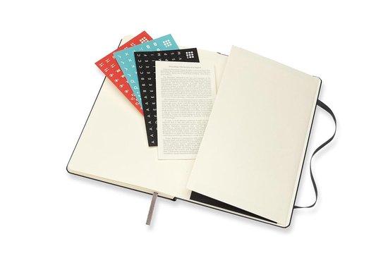 Moleskine 18 Maanden Agenda - 2020/21 - Wekelijks - Large (13x21 cm) - Zwart - Harde Kaft