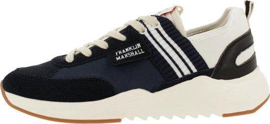 Franklin & Marshall Alpha Team Sneaker Men Nvy-wht 44