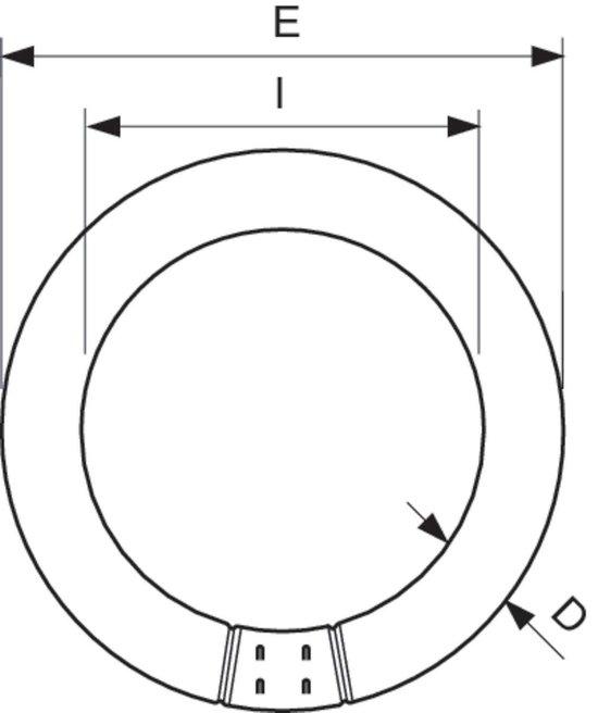 Philips MASTER TL-E Circular 22W G10Q B Koel daglicht fluorescente lamp