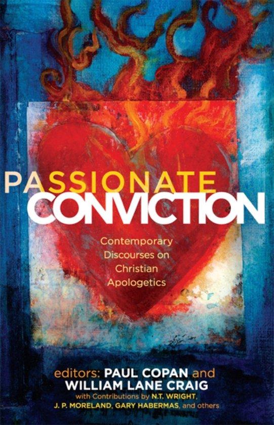 Boek cover Passionate Conviction: Modern Discourses on Christian Apologetics van Paul Copan (Onbekend)
