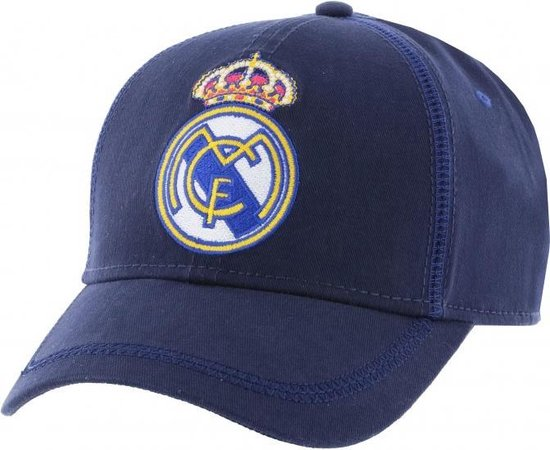 Real Madrid Cap Blauw Junior