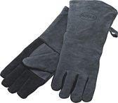 Rösle -  BBQ/ Grill handschoenen - Leer - Zwart