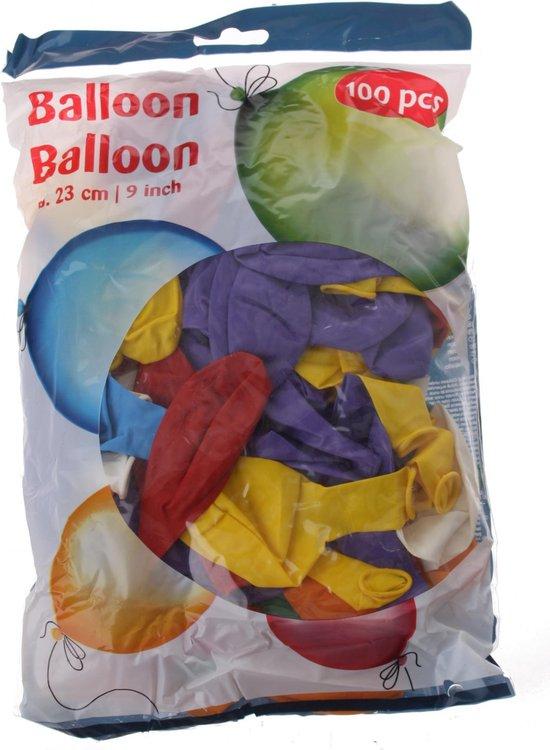Tom Ballonnen 23 Cm 100 Stuks