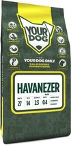 Yourdog havanezer hondenvoer pup 3 kg