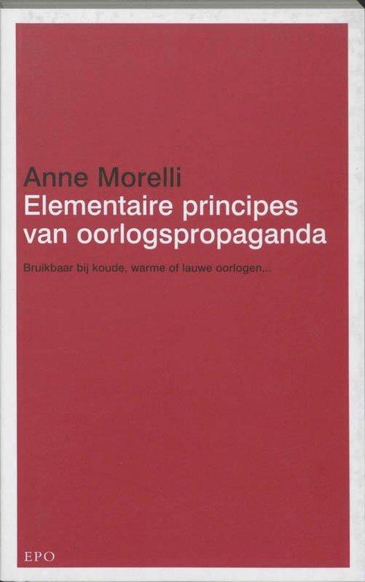 Elementaire principes van oorlogspropaganda - A. Morelli   Readingchampions.org.uk