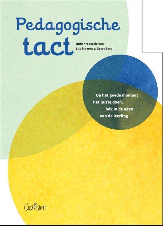 Pedagogische tact - Geert Bors |