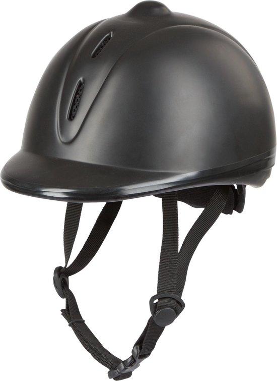 Covalliero Econimo - Paardrijcap - Zwart - 53-57
