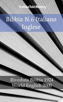 Bibbia N.6 Italiano Inglese