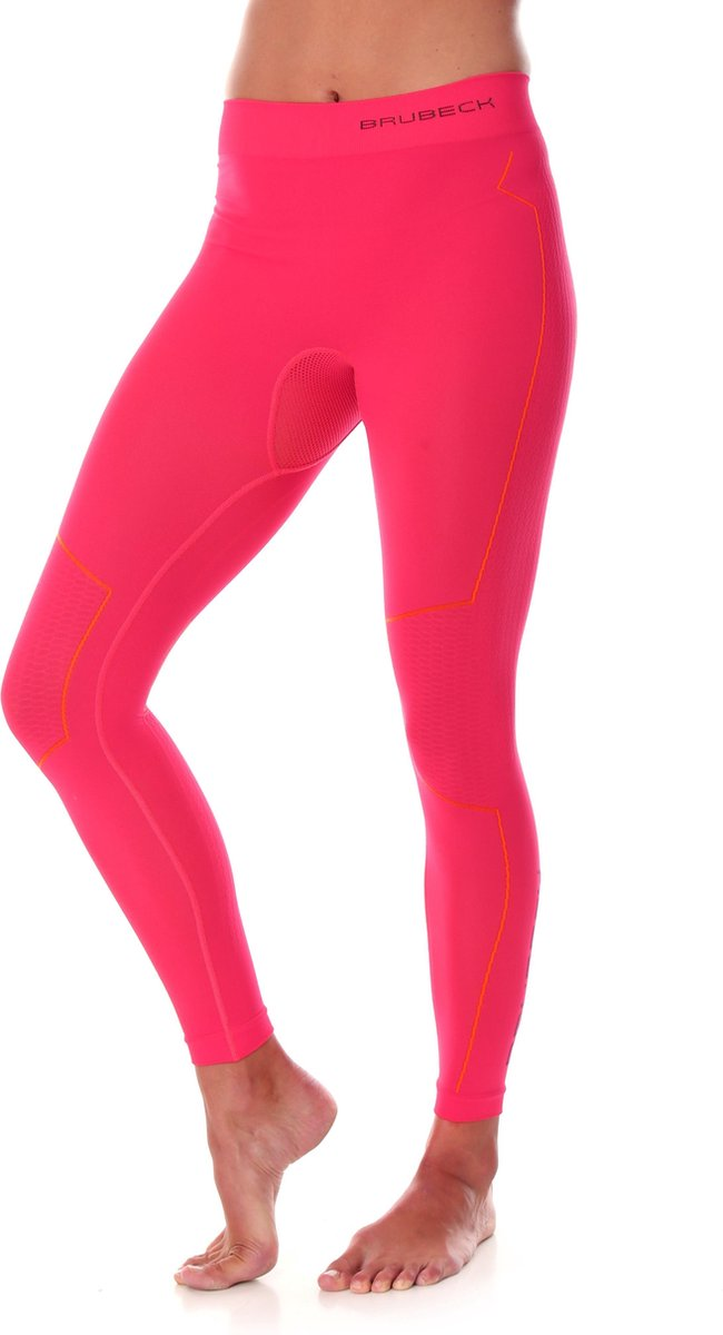 Dames Thermobroek - Thermokleding - met Nilit® Innergy-Raspberry-XS
