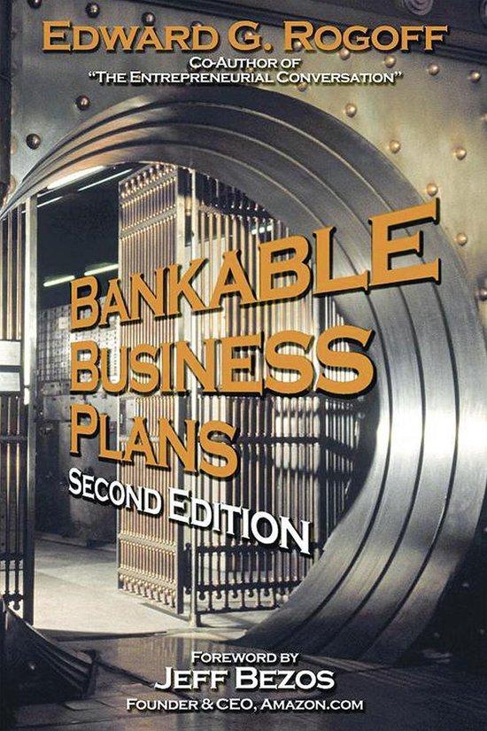 Boek cover Bankable Business Plans van Edward G. Rogoff (Onbekend)