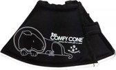 Comfy cone hondenkap zwart s long 24-30 cm / 20 cm hoo