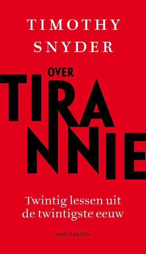 Over tirannie - Timothy Snyder | Readingchampions.org.uk