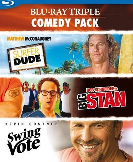 Cover van de film 'Triple Comedey Pack'