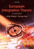 Boek cover European Integration Theory van Antje Wiener