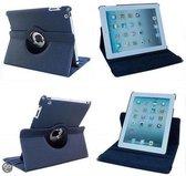 iPad Air Beschermhoes - Multi-stand Case  360 graden draaibare Beschermhoes - Donker Blauw