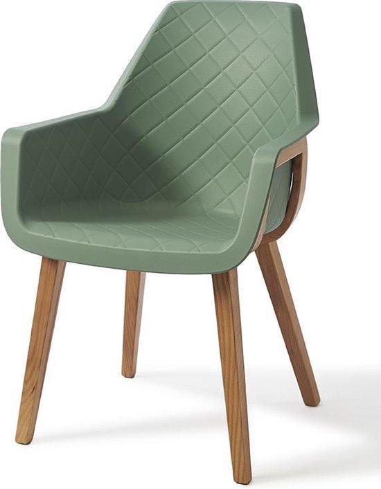 Riviera Maison Amsterdam City Dining Chair Green Eetkamerstoel
