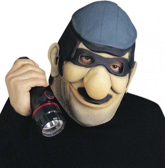 Boevenmasker met bril