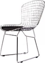 DS4U draadstoel - metalen stoel - Zwart/Chroom