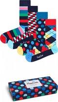 Happy Socks Special Big Dot Giftbox - Maat 41-46 - Oranje | Multicolor