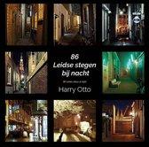 86 Leidse stegen bij nacht/86 Leiden alleys at night