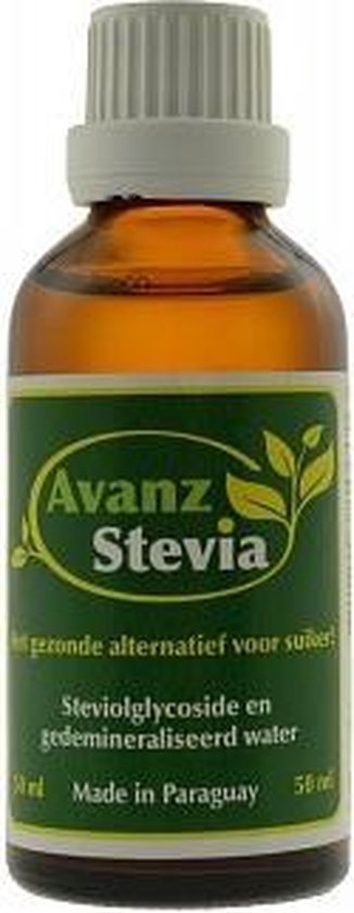 Stevia Avanz Extract - 50 ml