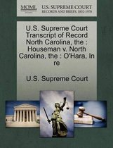 U.S. Supreme Court Transcript of Record North Carolina
