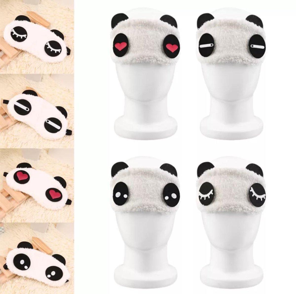 Slaapmasker Cute Panda ( Zacht en rustgevend) - Kings