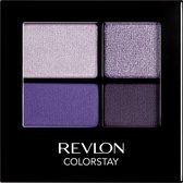 Revlon 16H ColorStay Quad - 530 Seductive - Paars - Oogschaduw Palet