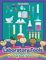 Laboratory Tools Coloring Book Adventure