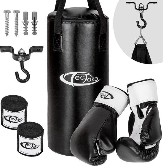 TecTake - bokszak met handschoenen - set - 402273