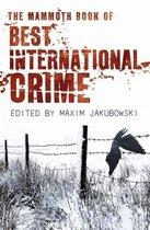 Omslag The Mammoth Book Best International Crime