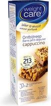Weight Care 12-uurtjes Maaltijdreep - Cappuccino - 2 stuks