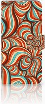 Samsung Galaxy S9 Plus Bookcase Hoesje Design Retro