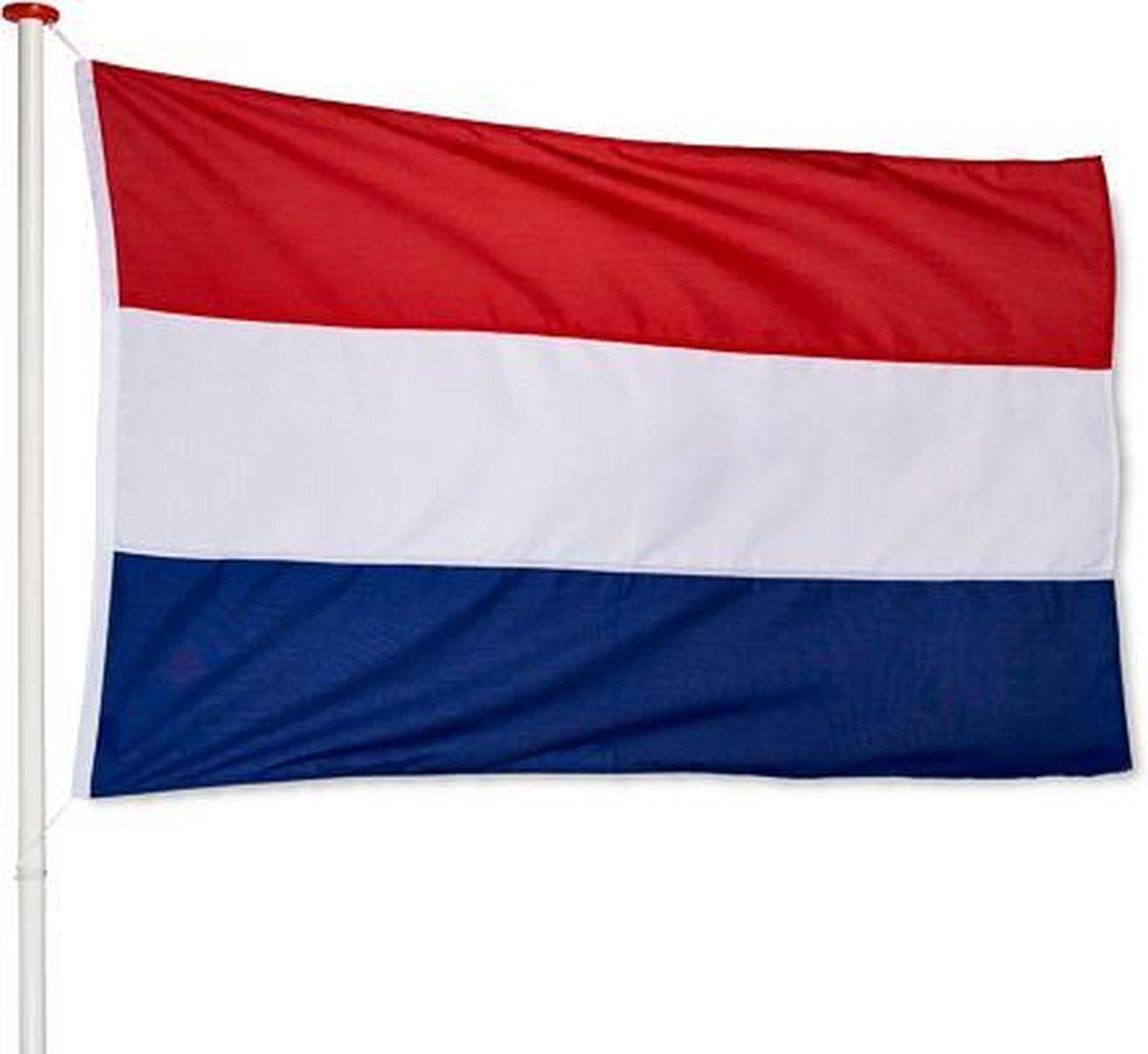 Nederlandse Vlag Nederland 100x150cm Premium   Voor aan huis
