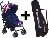 Easywalker MINI Buggy  - Union Jack Classic + Easywalker transport Tas