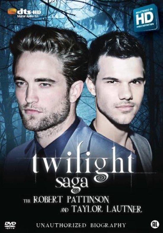 Cover van de film 'Twilight Pattinson Saga'