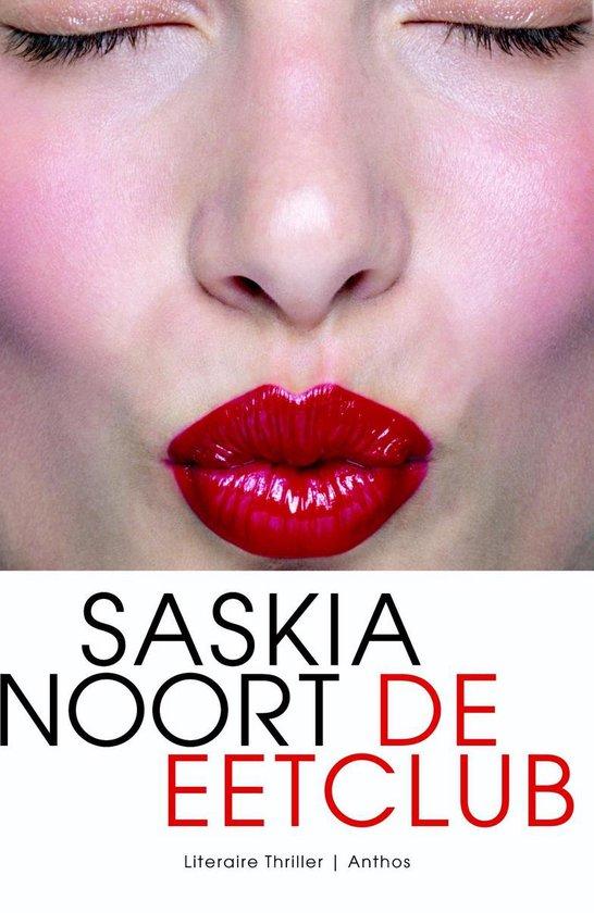 Boek cover De eetclub van Saskia Noort (Onbekend)