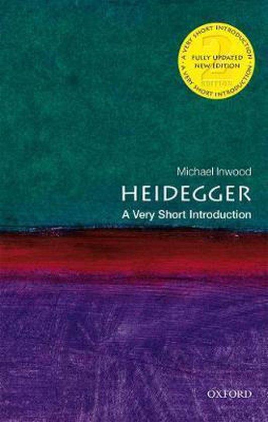 Boek cover Heidegger van Michael Inwood (Paperback)