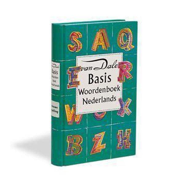 Boek cover Van Dale Basiswdb Ned Taal Nwe Spel Geb van M. Verburg (Hardcover)