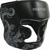 Bruce Lee Dragon Hoofdbeschermer - Leer - L/XL