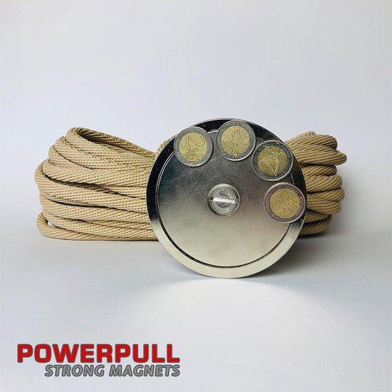 Vismagneet POWERPULL 525 voor magneetvissen - POWERPULL strong magnets