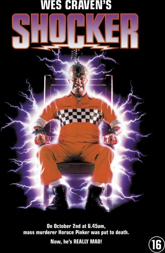 Cover van de film 'Wes Craven's Shocker'