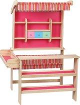Playwood - Houten winkel roze - Speelgoed winkel - Marktkraam