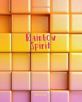 Back to School Rainbow Spirit Notebook