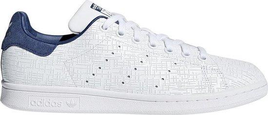 Adidas Stan Smith CQ2819 Wit Blauw