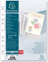 Exacompta showtas PP A4 11-gaats pak van 100 stuks