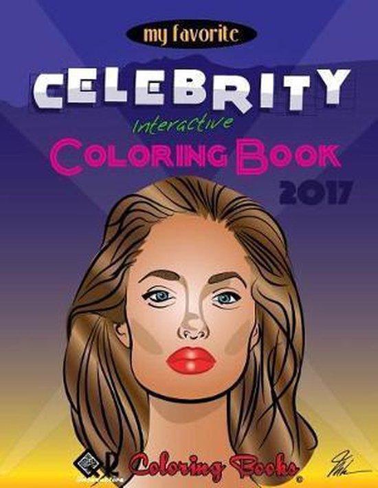 Afbeelding van My Favorite Celebrity Interactive Coloring Book