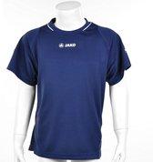 Jako Shirt Fire KM - Sportshirt - Kinderen - Maat 116 - Navy