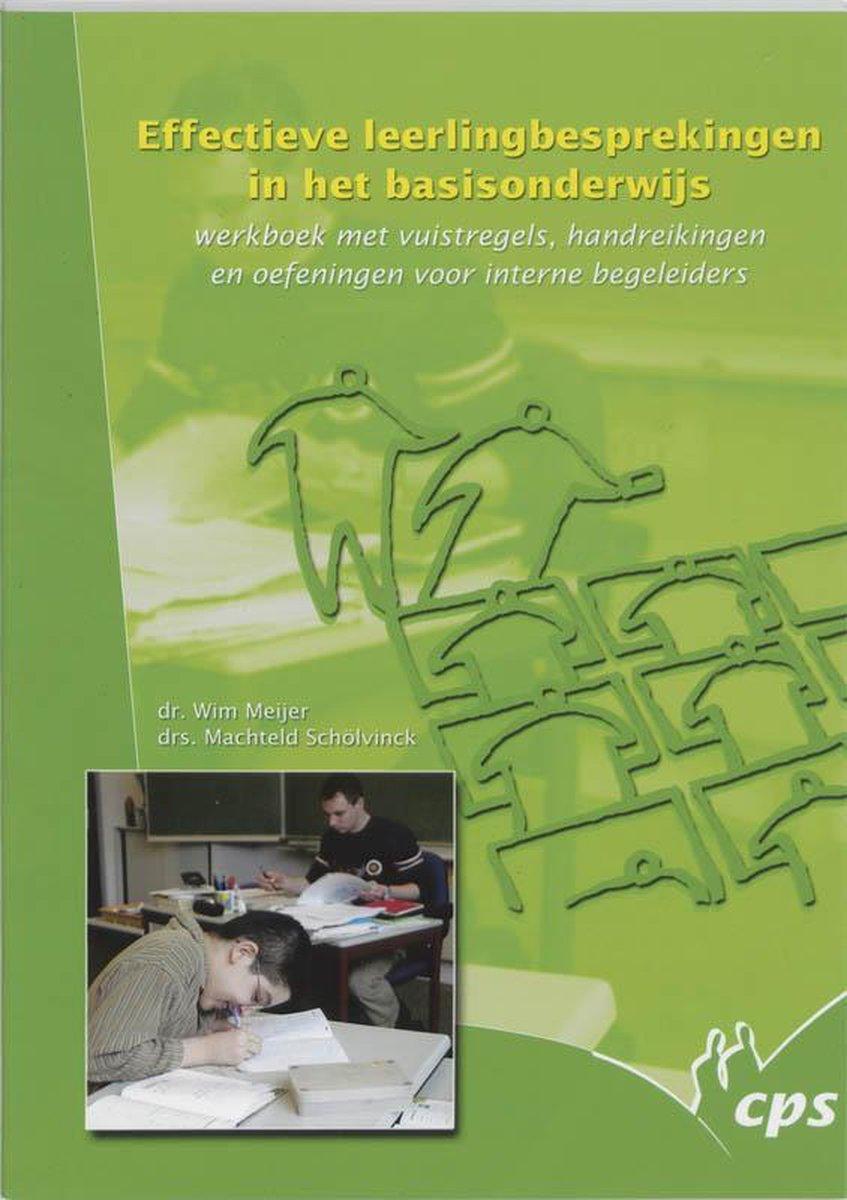 Effectieve leerlingbesprekingen in het basisonderwijs - Wouter Meijer